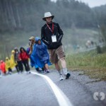 Day 2 - Our Tenacious Marchers brave the elements on a 38km day
