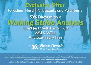 NoseCreekPhysicalTherapy-KidneyMarch-WalkingOffer-050516-v2