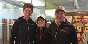 Laura Fleming, Colette Showers(Executive Assistant), Don Barrineau (President)