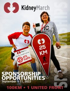Manual Cover Image for the Sponsorship Opportunities. Features two participants and logo.